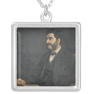 Hormuzd Rassam 1869年のポートレート シルバープレートネックレス