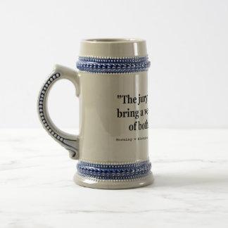 Horning vのコロンビア特別区254米国135 (1920年) ビールジョッキ
