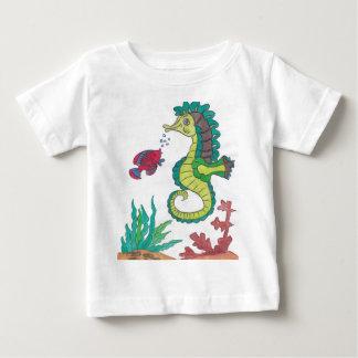 Horsefish ベビーTシャツ