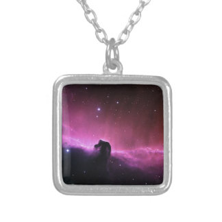 Horseheadの星雲のBarnard 33 NASA シルバープレートネックレス
