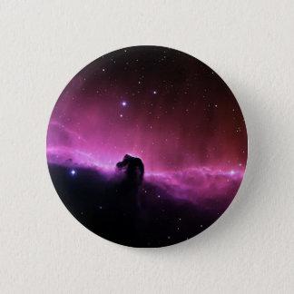 Horseheadの星雲のBarnard 33 NASA 5.7cm 丸型バッジ