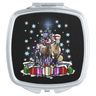 Horses with Christmas Styles