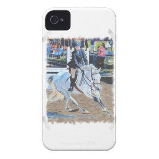 Horseshowの芸術のiPhone 4/4Sの穹窖の箱 Case-Mate iPhone 4 ケース