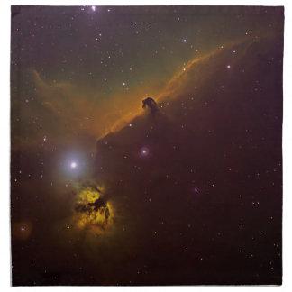 Horsheadの星雲 ナプキンクロス