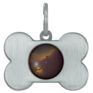 Horsheadの星雲 ペットネームタグ