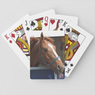 Horsingの-生意気なクリの馬 トランプ