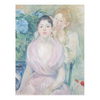 Hortensia、か2人の姉妹1894年 ポストカード