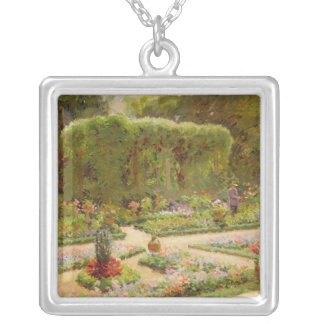 Horticulturalistの庭 シルバープレートネックレス