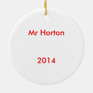 Horton Ornament氏 セラミックオーナメント