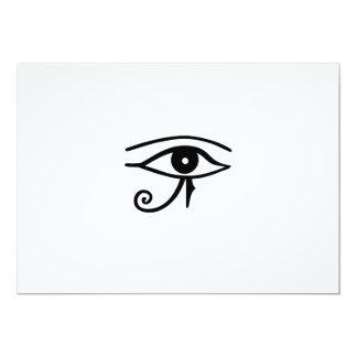Horusのエジプトのヒエログリフの~の目 カード
