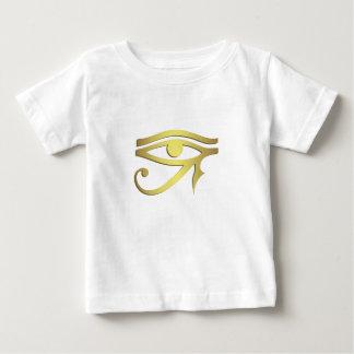 horusのエジプトの記号のベビーのワイシャツの目 ベビーTシャツ