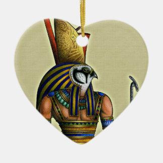 Horusのハートのオーナメント セラミックオーナメント