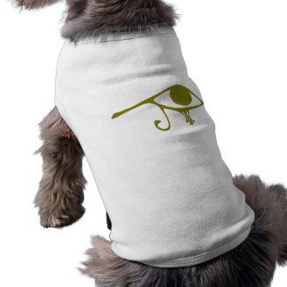 Horusの泥の緑の瞳 ペット服
