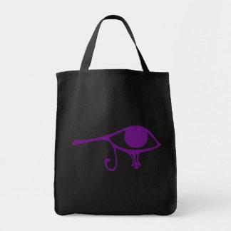 Horusの王室のな紫色の目 トートバッグ