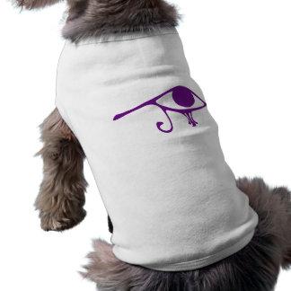 Horusの王室のな紫色の目 ペット服