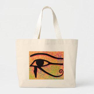Horusの目 ラージトートバッグ