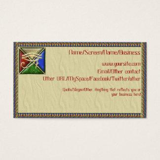 Horusの紹介カードの目 名刺