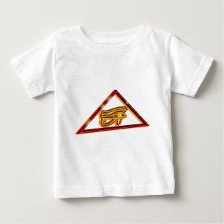 Horusの組み立てられた目 ベビーTシャツ