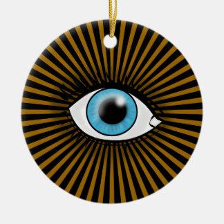 Horusの青い目 セラミックオーナメント