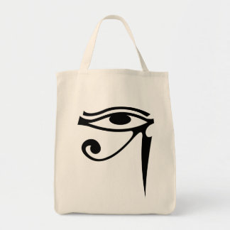 Horusの食料雑貨の戦闘状況表示板の目 トートバッグ
