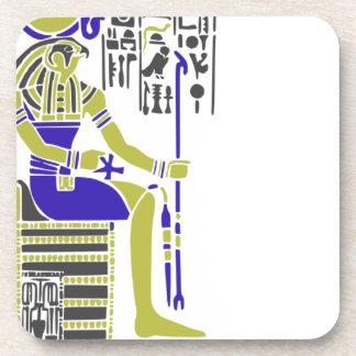 HorusタカEgyption Heiroglyph コースター