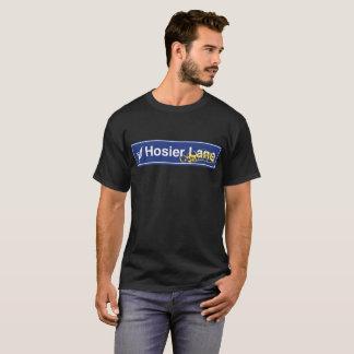 Hosierの車線の落書きの道路標識 Tシャツ