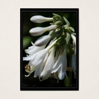 HostAの花のギフトのラベル 名刺