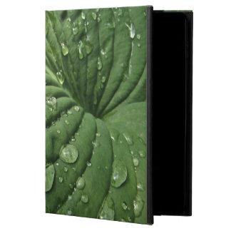 HostAの葉のPowisのiPadの雨滴は2箱を乾燥します Powis iPad Air 2 ケース
