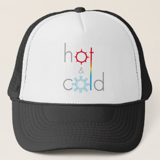 Hot&Coldのロゴ キャップ