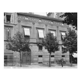 Hotel de Pourtales、遅く- 19 Th世紀早 ポストカード