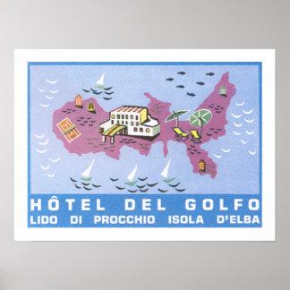 Hotel Del Golfo ポスター