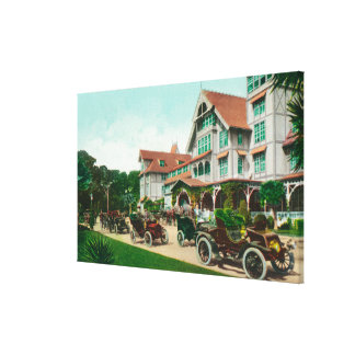 Hotel del Monteの外面の眺めを有頂点にして下さい キャンバスプリント