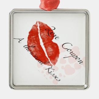 hotgirlが付いている美しいの赤い口紅 メタルオーナメント