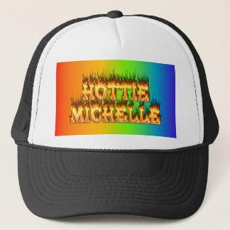 Hottieミシェールの火および炎 キャップ