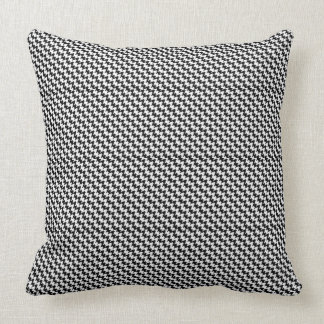 Houndstooth Pattern Decorative Pillow クッション