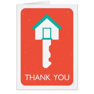 housekeyありがとう ノートカード