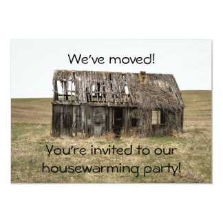 Housewarming New Home/Address Party Invitation カード