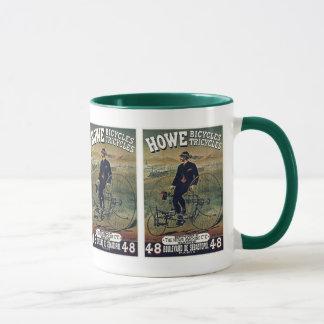 Howeの自転車及び三輪車 マグカップ