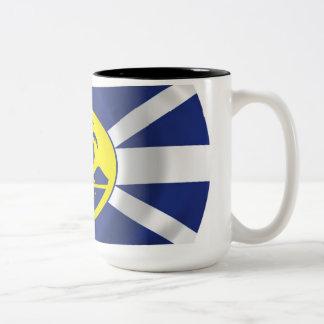Howe Island Flag Mug主 ツートーンマグカップ