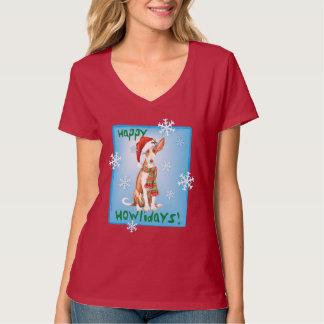 Howliday幸せなIbizanの猟犬 Tシャツ