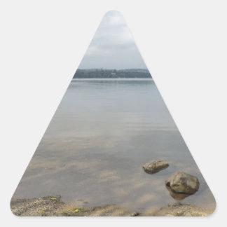 Howtown、CumbriaからのUllswater湖 三角形シール
