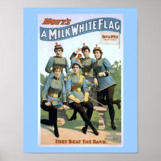 Hoytのミルクの白旗のヴィンテージの劇場ポスター ポスター