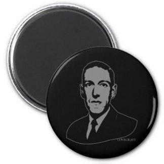 HP Lovecraftのポートレート マグネット