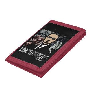 HP LOVECRAFTの財布 ナイロン三つ折りウォレット