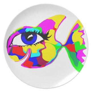 Hppyの魚プレート プレート