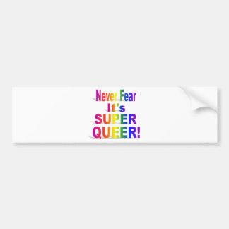 HRによってすごい同性愛者- Gay.png バンパーステッカー