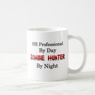 HRのプロフェッショナルかゾンビのハンター コーヒーマグカップ