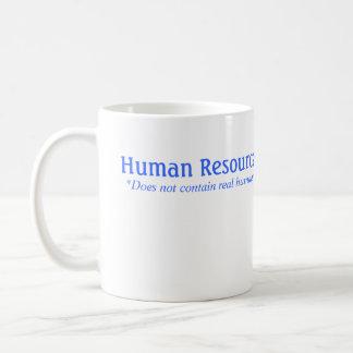 HRは実質の人間を含んでいません コーヒーマグカップ