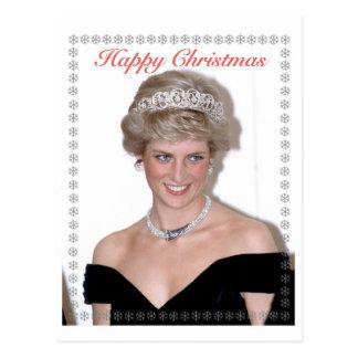 HRHクリスマス英国皇太子妃 ポストカード