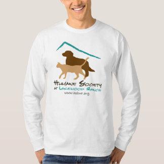 HSLWRのロゴのワイシャツ Tシャツ